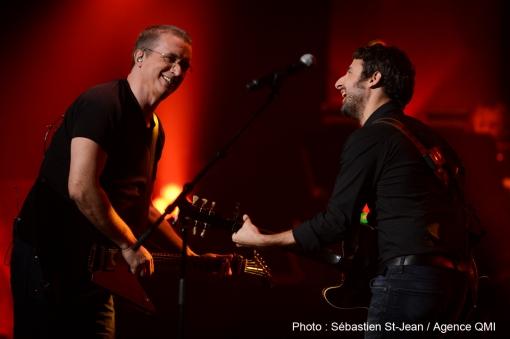 Show du Refuge - Dan Bigras et Louis-Jean Cormier
