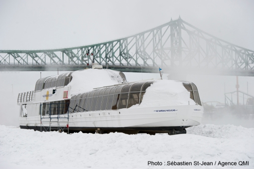 FROID GLACIAL SUR MONTREAL