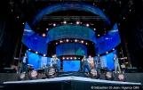 Spectacle de la fête nationale du Québec à Montréal, à la place des festivals, à Montréal, Québec, Canada, le jeudi 23 juin 2016. Sur cette photo: Le groupe QW4RTZ assure la première partie du spectacle SÉBASTIEN ST-JEAN/AGENCE QMI