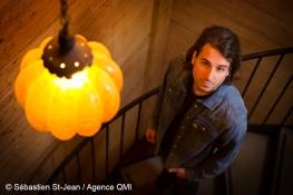 Portrait de Bobby Bazini, au Barouf, à Montréal, Québec, Canada, le jeudi 27 octobre 2016. SÉBASTIEN ST-JEAN/AGENCE QMI