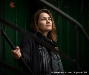 Entrevue avec Salomé Leclerc à Montréal, Québec, Canada. Le mercredi 10 octobre 2018. SEBASTIEN ST-JEAN/AGENCE QMI