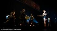 Dévoilement de «Passagers», la nouvelle création des 7 doigts de la main, à la Tohu, à Montréal, Québec, Canada. Le jeudi 8 novembre 2018. SEBASTIEN ST-JEAN/AGENCE QMI