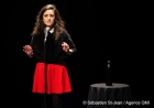 """Première du one woman show de Virginie Fortin, """"Du bruit dans le cosmos"""", au Théâtre Outremont, à Montréal, Québec, Canada. Le mercredi 7 novembre 2018. SEBASTIEN ST-JEAN/AGENCE QMI"""