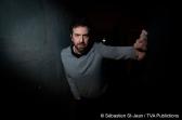 Visionnement de presse de la 3e saison de Victor Lessard – Ghetto X, au Centre PHI, à Montréal, Québec, Canada, le jeudi 24 octobre 2019. Sur cette photo: Patrice Robitaille SÉBASTIEN ST-JEAN